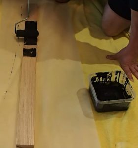 Painting Oak Runner Board
