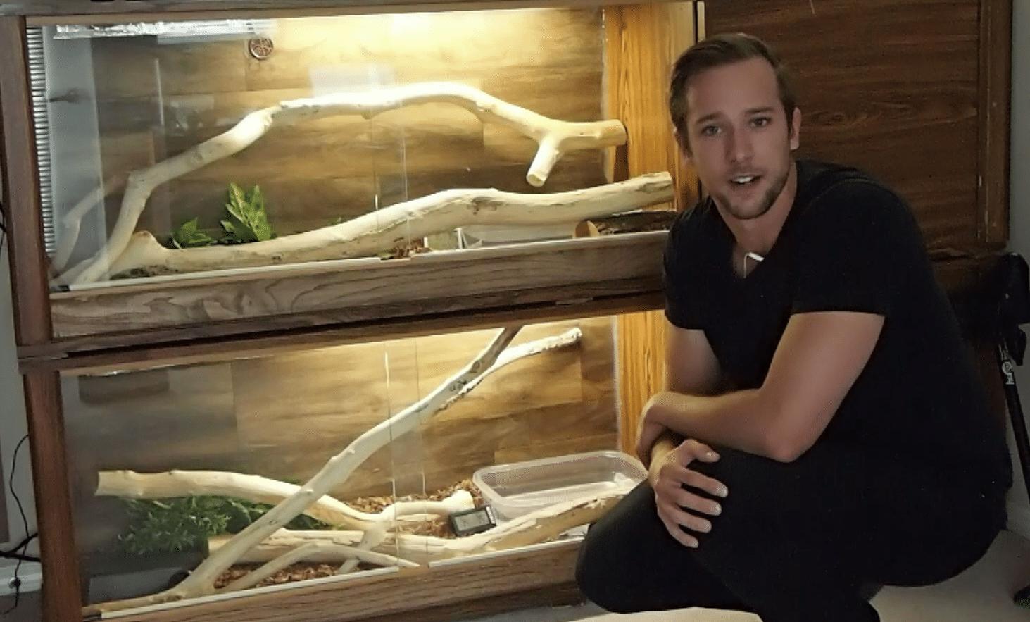 DIY Snake Cage: Part 3