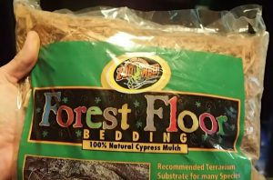 Zoo Med Cypress Mulch for Brazilian Rainbow Bow Enclosure